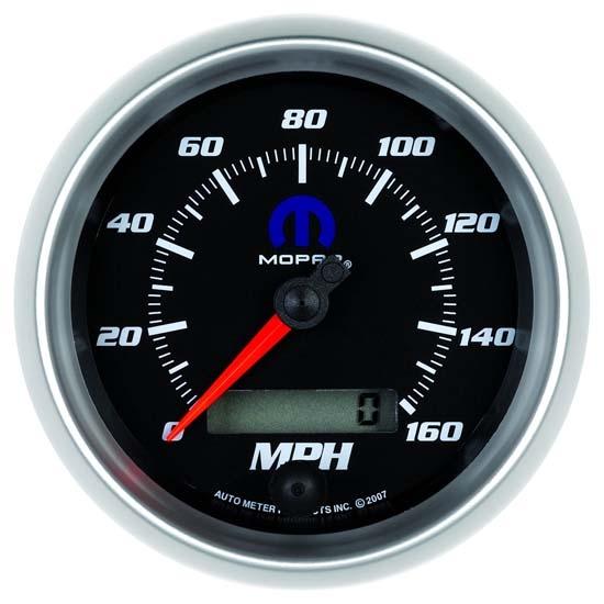 3 8 3 8 Indicator : Auto meter mopar air core speedometer gauge inch