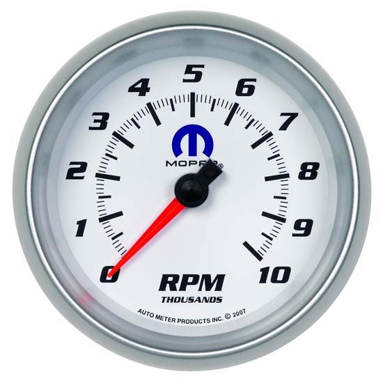 Auto Meter 880038 Mopar Air-Core In-Dash Tachometer Gauge, 3-3/8 Inch