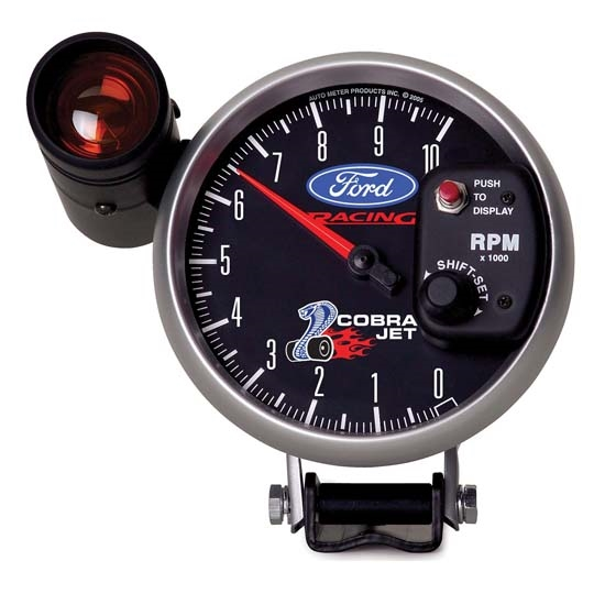 Auto Meter 880281 Ford Racing Air-Core Pedestal Tachometer Gauge