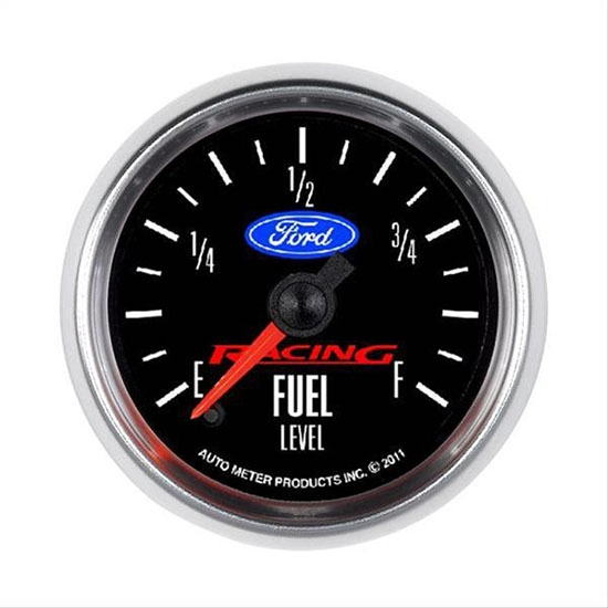 Auto Meter 880400 Ford Racing Digital Stepper Motor Fuel Level Gauge