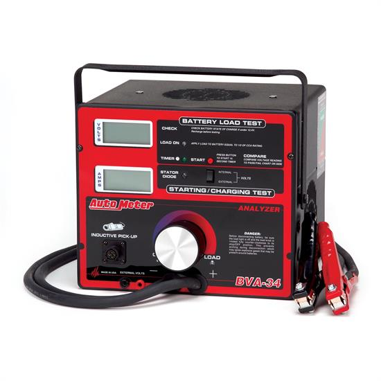Auto Meter BVA-34 800 Amp Variable Load Battery/Electrical System Tester