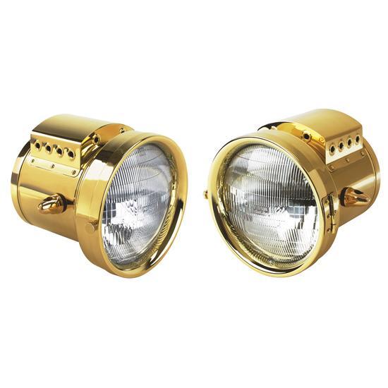 Brass T Headlights