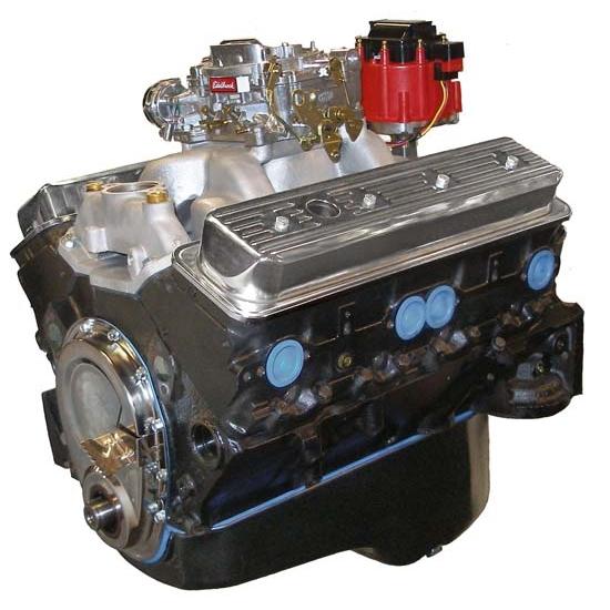 BluePrint BP3830CTC1S GM 383 Dressed Engine, Vortec Heads