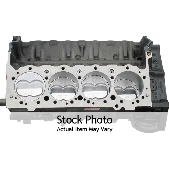 BluePrint BP38316 GM 383 Stroker Shortblock Crate Engine, Forged Crank