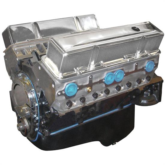 BluePrint BP3961CT GM 396 SBC Base Engine, Alum Heads, Roller Cam