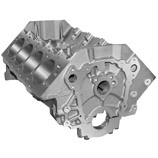 BluePrint BPT4250100W BB Chevy Cast Iron Engine Block, 2 piece Seal
