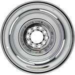 Speedway Smoothie 15x10 Steel Wheels, 5 on 4.5/4.75, 4.5 BS