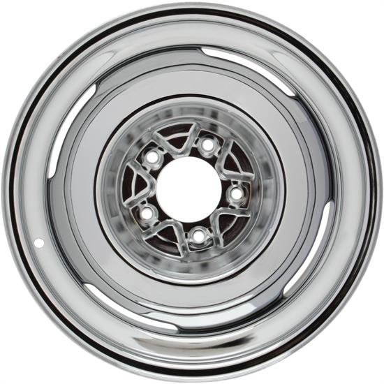 Speedway Vintage 15x7 Steel Wheels, 5 on 5.5, 4 Inch BS