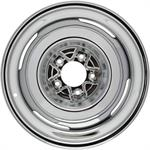Speedway Vintage 16x6 Steel Wheels, 5 on 5.5, 3.5 Inch BS