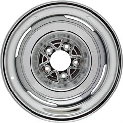 Speedway Vintage 16x7 Steel Wheels, 5 on 5.5, 4 Inch BS