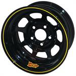 Aero 50-184510S 50 Series 15x8 Wheel, 5 on 4-1/2 BP, 1 Inch BS, IMCA