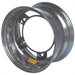 Aero 51-250540 51 Series 15x15 Wheel, Spun, 5 on WIDE 5 BP, 4 Inch BS