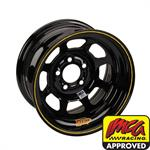 AERO 52 Series IMCA Certified 15 Inch Race Wheel, 5 on 4-3/4 Bolt Pattern