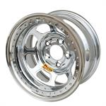 Aero 53-284530 53 Series 15x8 Inch Wheel, BL, 5 on 4-1/2, 3 Inch BS