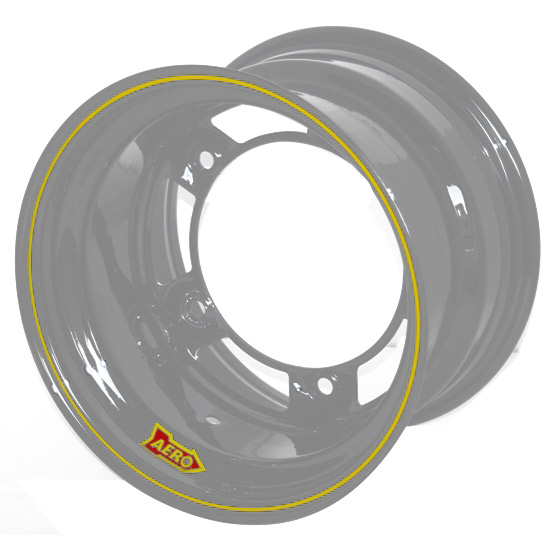 Aero 58-080540 58 Series 15x8 Wheel, SP, 5 on WIDE 5 BP, 4 Inch BS