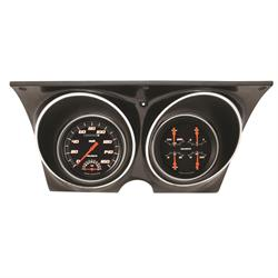 Classic Instruments 1967-1968 Chevy Camaro Black Gauge Set, Velocity