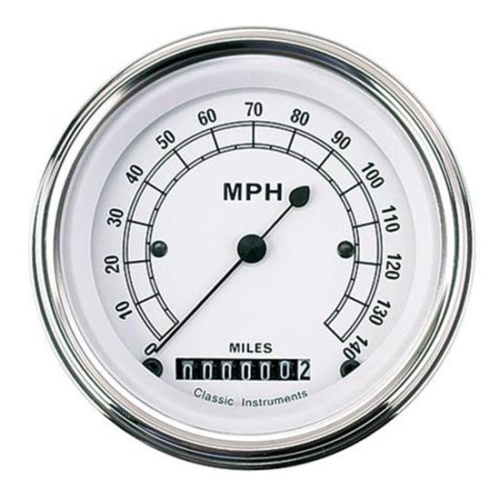 Classic Instruments CW55SLF Classic Series 140 MPH Speedometer