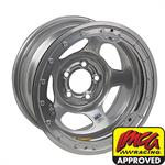 Bassett IMCA Approved 15 Inch Wheel, 15x8, 5 on 4 1/2, Beadlock