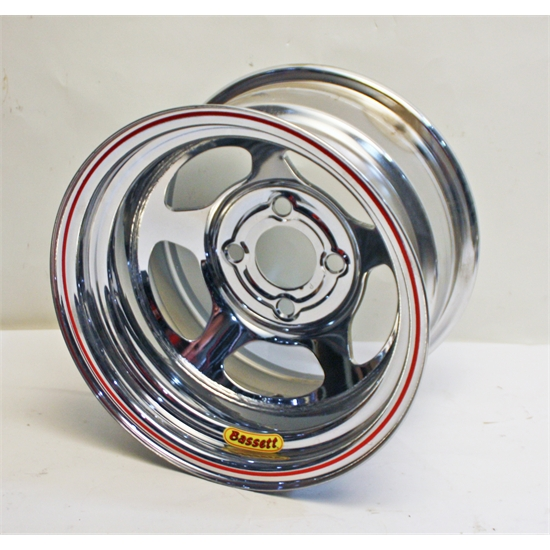 Garage Sale - Bassett 13x8 Inertia Wheel, 4 on 4-1/4, 3 Inch Offset