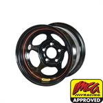 Bassett 58AC1W 15X8 Inertia 5on4.75 1 In Backspace Wissota Black Wheel