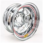 Bassett 58DC2WC 15X8 DHole 5on4.75 2 In Backspace Wissota Chrome Wheel