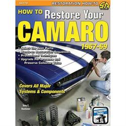 Book/Manual - How to Restore Your Camaro, 1967-69