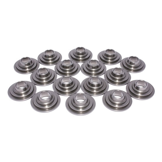 COMP Cams 1731-16 Lightweight Tool Steel Retainers, 1.500-1.550 Inch