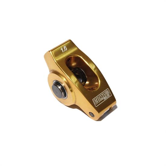 COMP Cams 19002-1 Ultra Gold Rocker Arm, Full roller, 3/8 Stud, Each
