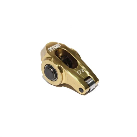 COMP Cams 19025-1 Ultra Gold Rocker Arm, Full roller, 8mm Stud, Each