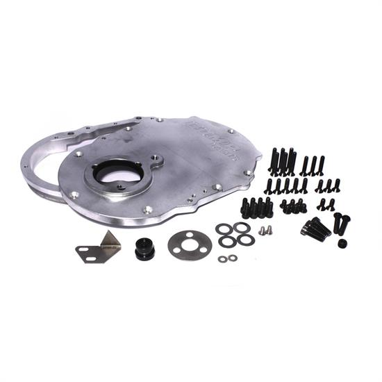 COMP Cams 217 2-Piece Aluminum Timing Cover, Big Block Chevy, Kit