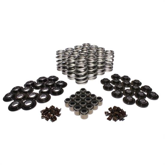 COMP Cams 26918CS-KIT Valve Spring and Retainer Kits, 372 lbs/in, Kit