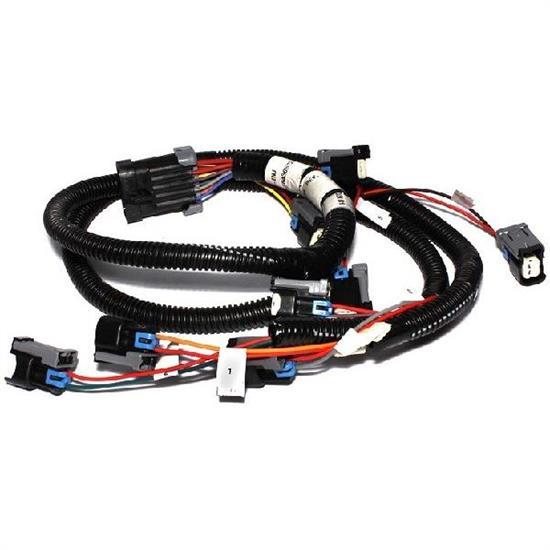 5 7 tbi wiring harness 5 7 hemi wiring harness fast 301208 xfi fuel injector harness, chrysler new hemi 5 ...