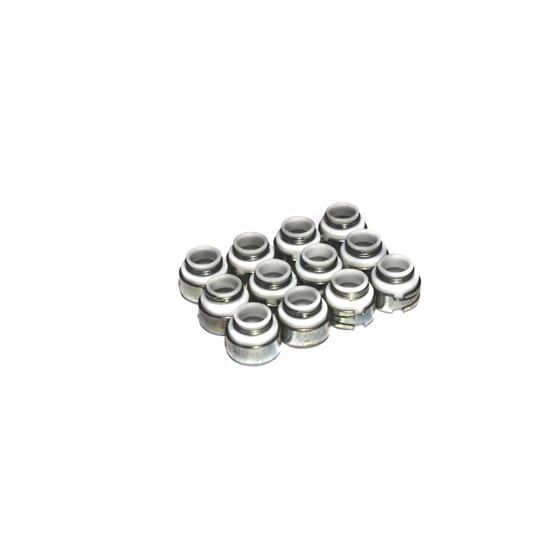 COMP Cams 513-12 Valve Stem Seals, PTFE, .500 Inch, 5/16 Inch, Set/12