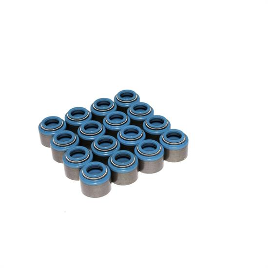 COMP Cams 516-16 Valve Stem Seals, PTFE, .530 Inch, .310 Inch, Set/16