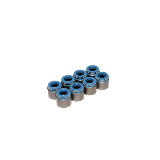 COMP Cams 521-8 Valve Stem Seals, PTFE, .375 Inch, .500 Inch, Set/8