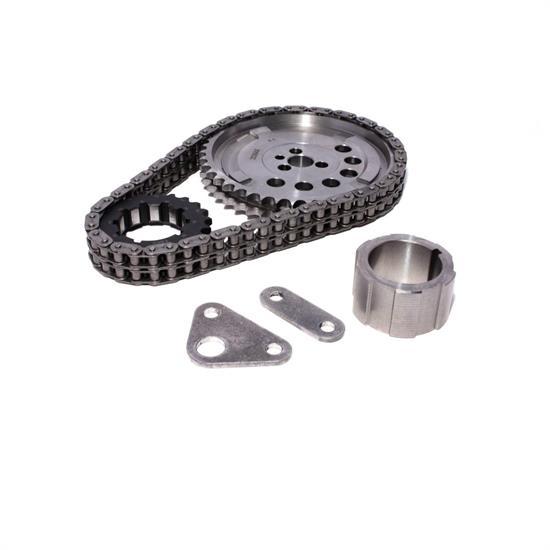 COMP Cams 7106-5 Keyway Adj. Billet Timing Chain Set, Chevy LS