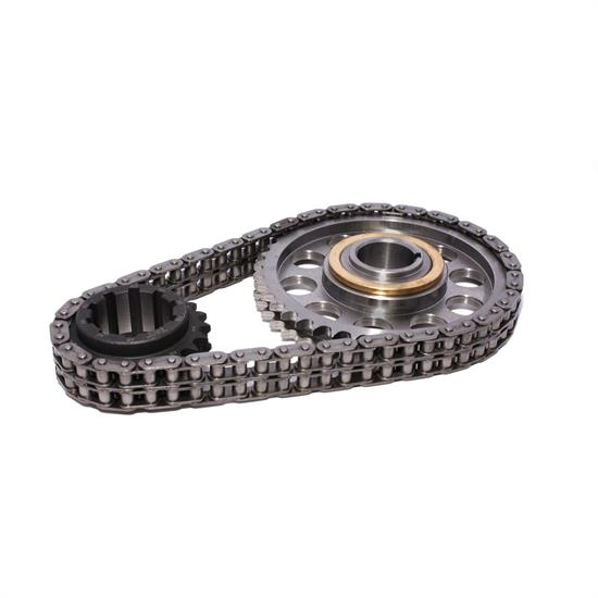 COMP Cams 7112 Keyway Adjust. Billet Timing Chain Set, Pontiac