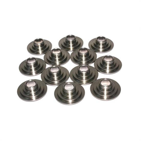 COMP Cams 736-12 Titanium Valve Spring Retainers, 10 Degree, Set of 12