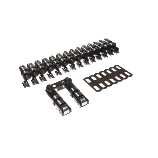 COMP Cams 8992-16 Endure-X Lifters, Solid roller, Chevy, Set