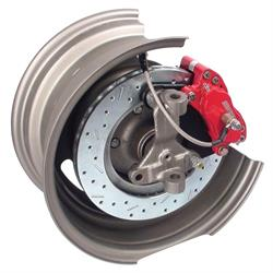 SSBC 1964-74 GM Competition Drum to Disc Brake Conversion