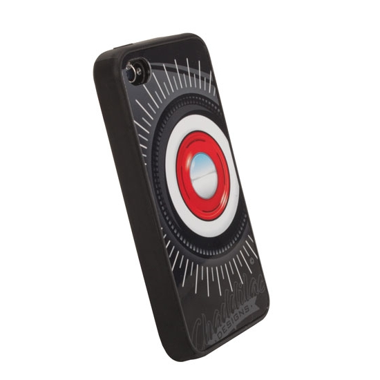 Garage Sale - Steelie & Whitewall iPhone Cover - Black