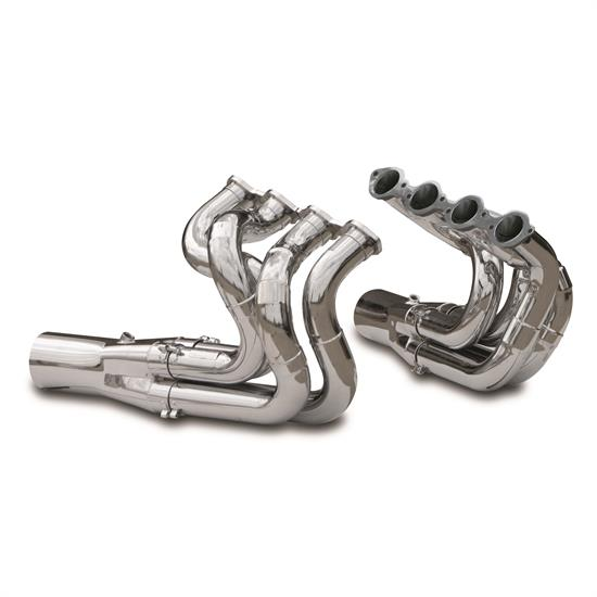 Dynatech® Big Block Chevy Two Step Dragster Headers, 2-3/8 - 2-1/2, STD Collector