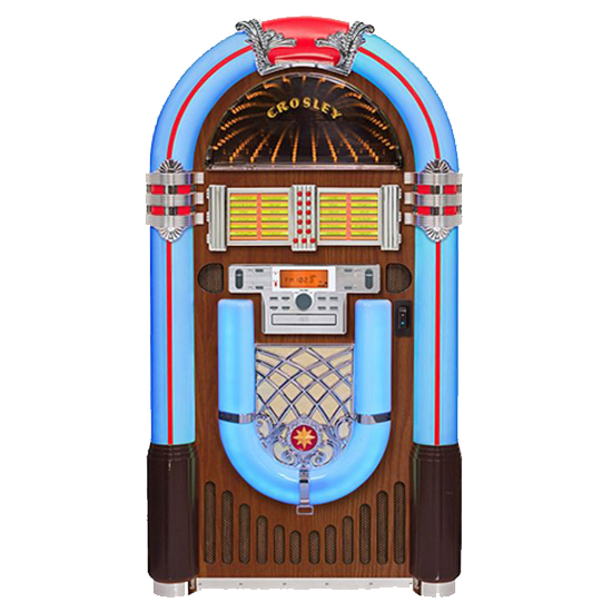 Crosley CR1206A-WA Full Size Bluetooth Jukebox