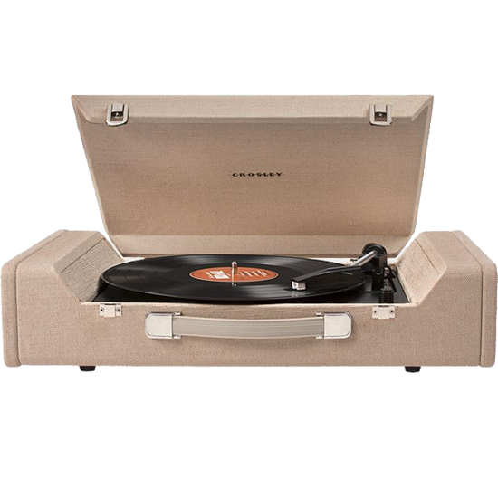 Crosley CR6232A-BR Nomad Portable Turntable