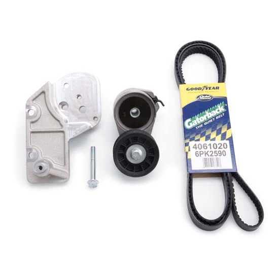 Edelbrock 15035 E-Force Belt Tensioner Upgrade Kit, Aluminum
