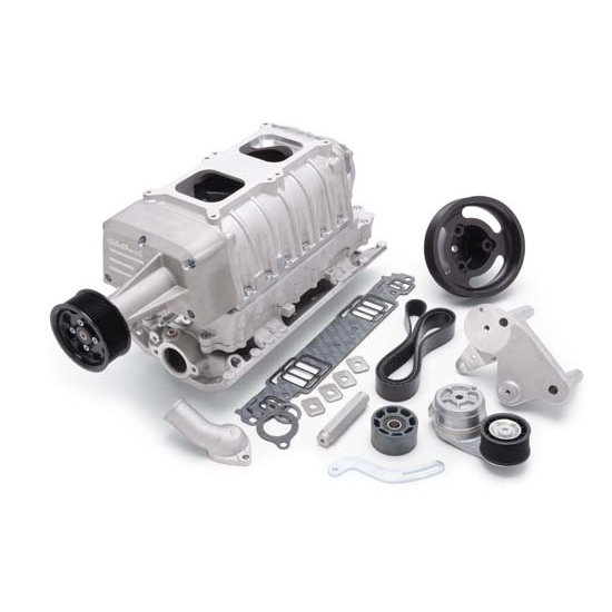 Edelbrock 1513 E-Force Enforcer Supercharger System Kit, Satin Finish