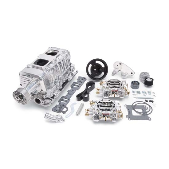 Edelbrock 15141 E-Force Enforcer Supercharger System, SB Chevy, Kit
