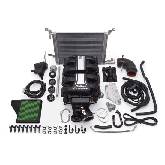Edelbrock 15880 E-Force Street Legal Kit Supercharger, Ford 5.0L