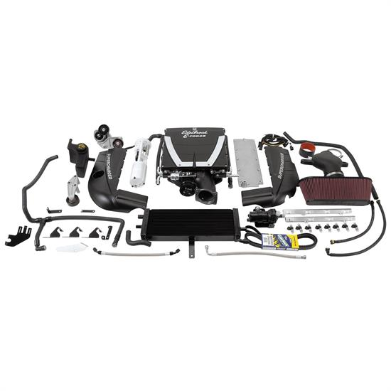 Edelbrock 15910 E-Force Supercharger Street Legal Kit, Chevy 6.2L LS3