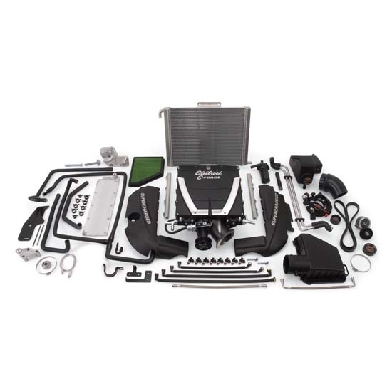 Edelbrock 15970 E-Force Supercharger Street Legal Kit, Chevy 6.2L LS